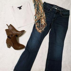 Eddie Bauer bootcut curvy jeans